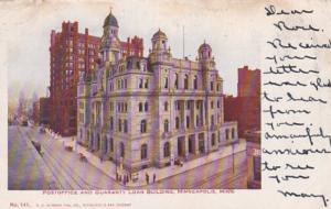 Minnesota Minneapolis Post Office and Guaranty Loan Building 1906