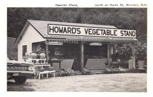 New Hampshire  Bristol ,  Howard's Vegetable Stand