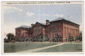 Cambridge, Mass, Pierce Hall, Engineering School, Harvard College