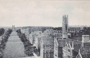 North Carolina Durham Compus Suth From Hospital Duke University Albertype
