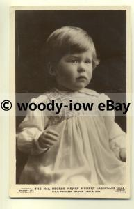 r0152 - Princess Mary's young son George Lascelles - postcard