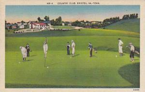 GOLF:  Country Club, Bristol , Va.-TENN>, 30-40s