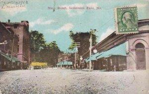 Maine Livermore Falls Main Street
