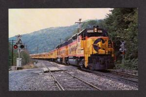 WV Chessie System RR Train HARPER'S FERRY WEST VIRGINIA