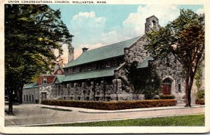 Massachusetts Wollaston Union Congregational Church 1936