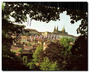 Postcard Modern Praha The Castle of Prague Hradcany