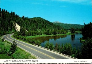 Idaho North Fork Of Fayette River Scenic Route 55