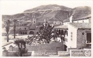 California Death Valley Scottys Castle And Guest House Real Photo