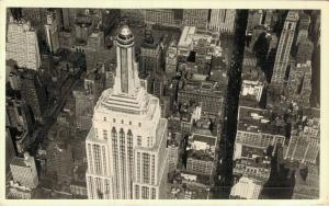 USA - Aerial View of Empire State Observatories REAL PHOTO 01.83