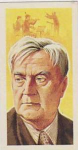 Brooke Bond Tea Vintage Trade Card Famous People 1967 No 28 Ralph Vaughan-Wil...