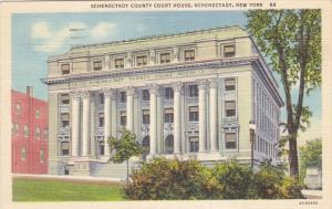 Schenectady County Court House, Shenectady, New York 1951