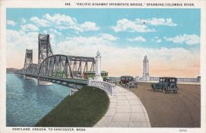 Pacific Highway Interstate Bridge, Spanning Columbia River, Portland, Orego...