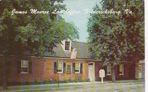 Virginia Fredericksburg James Monroe Law Office