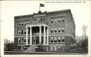 Clarksville AR College of Ozarks Postcard