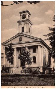 Connecticut Stonington  Second Congregational Church