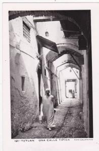 RP, Una Calle Tipica, Tetuan, Morocco, Africa, 1920-1940s