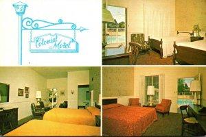 California Santa Barbara Colonial Motel