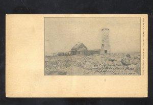 SCITUATE MASSACHUSETTS OLD LIGHT TOWER LIGHTHOUSE VINTAGE POSTCARD 1905