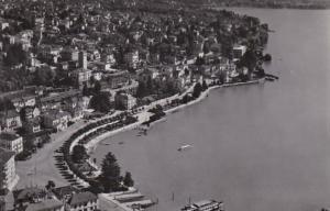Switzerland Locarno Lungolago 1957 Photo