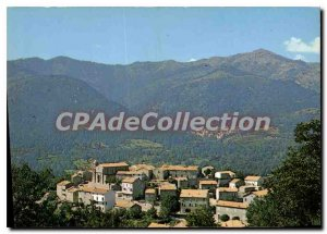 Postcard Modern Cozzano Vue Generale Au Fond Ciamannacce