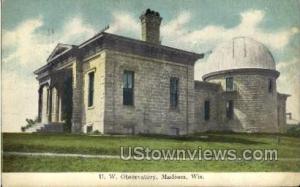 U. W. Observatory