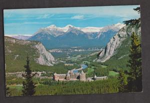 Banff Springs Hotel Banff Alberta Canada - Used In USA