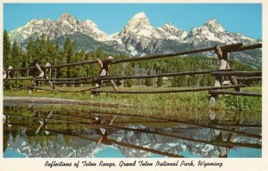 US    PC4628  TETON RANGE, GRAND TETON NATIONAL PARK
