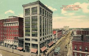 USA Hanselman Building and North Burdick Street Kalamazoo 01.80