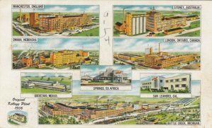 BATTLE CREEK , Michigan, 50-70s; Kellogg's Company Many Plants around the world