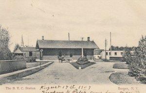 BERGEN, New York , 1916 ; N.Y.C. Railroad station