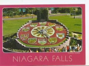 Postal 031874 : Niagara Falls Canada Ontario. Hydros Floral Clock