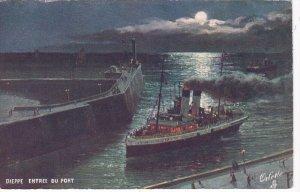 DIEPPE, Saine Maritime, France, 1900-1910´s; Entree du Port ; TUCK