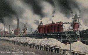 PUEBLO, Colorado, 1900-10s; Steel Plant, Colorado Fuel and Iron Company
