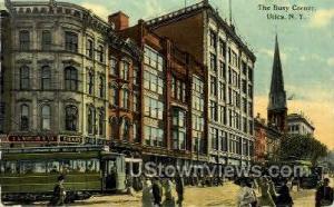 The Busy Corner Utica NY 1912