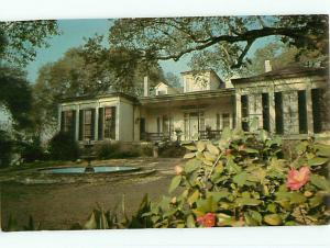Vintage Post Card La Whites Shop Antiques Interiors Natchez Miss # 4253