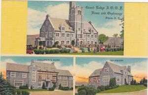 Grand Lodge IOOF Home & Orphanage , ITHACA , New York , 30-40s