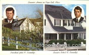 The kennedy Compound John F. Kennedy 35th USA President Postcard Postcards  T...