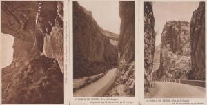 Pobla De Segur Spain 3x Antique Postcard s