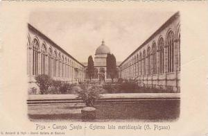 Pisa, Campo Santo, Esterno lato meridionale, (G. Pisano), Toscana, Italy, 10-20s