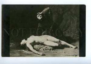 139467 Drowned Maiden NUDE BELLE by BENNER vintage PC