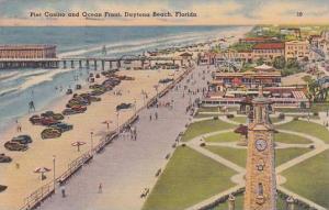 Florida Daytona Beach Pier Casino And Ocean Front 1942