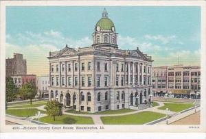 Illinois Bloomington McLean County Court House