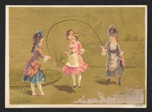 VICTORIAN TRADE CARD HA & LJ DeLand & Co Baking Powder