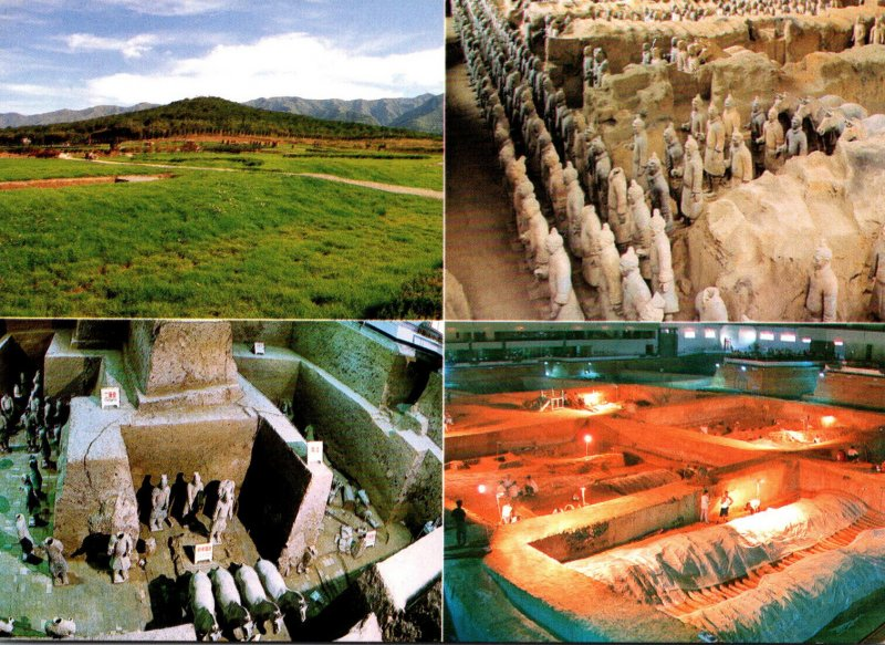 China Shaanxi Emperor Qin ShiHuang's Mousoleum Terra Cotta Warriors and ...