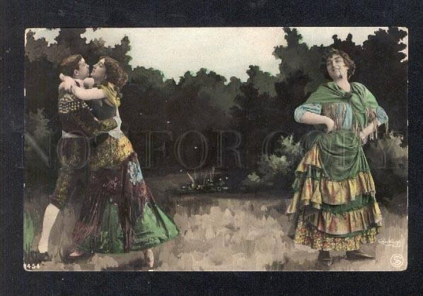 026633 OTERO Opera Star in Role. Vintage REUTLINGER POSTCARD