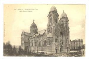 Eglise Du Sacre-Couer, Holy-Heart's Church (Meurthe-et-Moselle), France, 1900...