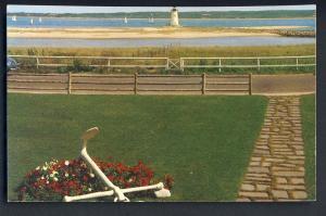 Martha's Vineyard, Massachusetts/Mass/MA Postcard, Edgartown Lighthouse,Cape Cod