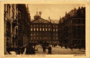 CPA Amsterdam. Raadhuisstraat. NETHERLANDS (624501)