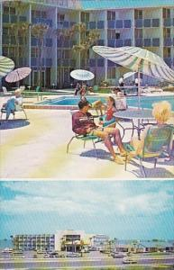 Florida Ormond Beach Quality Courts Motel North Beach With Pool 1969