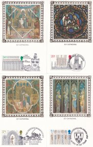 Benham Ely Cathedral 5x First Day Cover Postcard FDC Card s